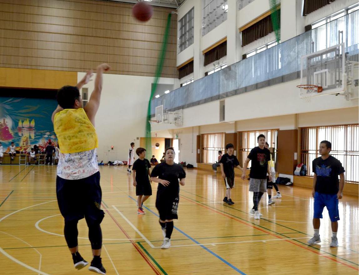 バスケットボールサークル イメージ